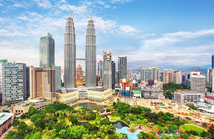 Petronas Twin Towers - Kuala Lumpur, Malaisie
