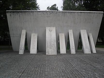 Mémorial de l'ancienne synagogue