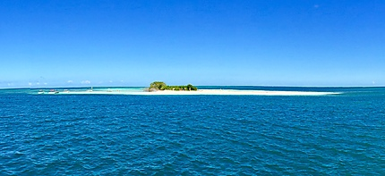 Guadeloupe grand cul de sac marin îlet blanc