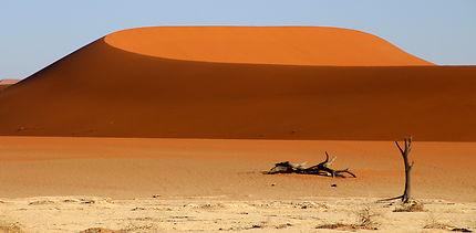 Lever du jour sur les dunes