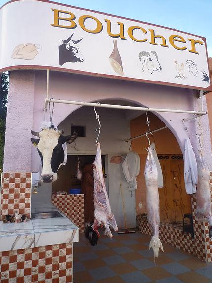 Boucherie marocaine