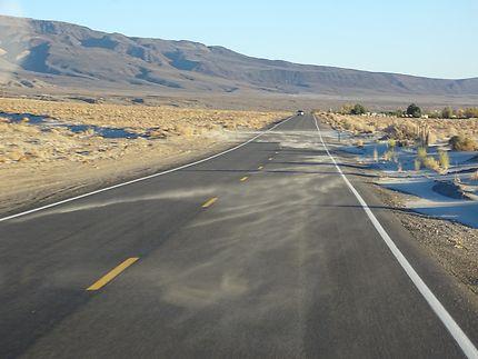 Entre Lone Pine et Death Valley