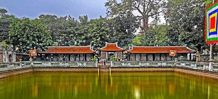 Temple de la Littérature à Hanoi