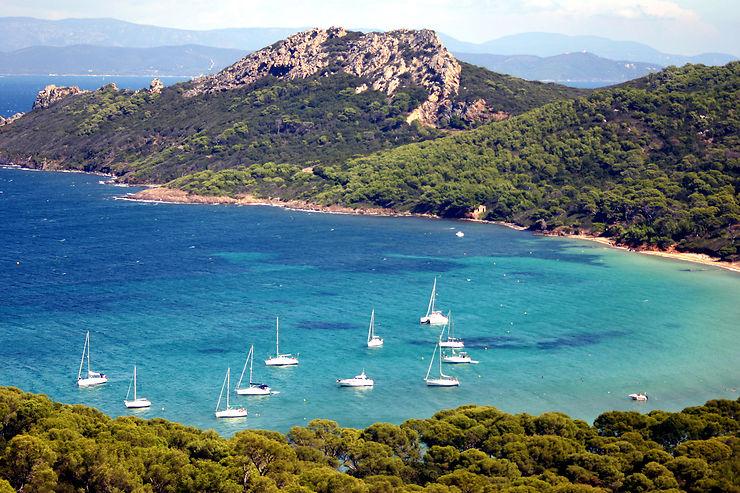 L'île de Porquerolles (Var)