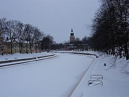 Neige sur Turku
