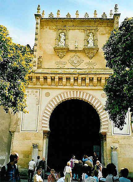 Entrée mosquée à Cordoue