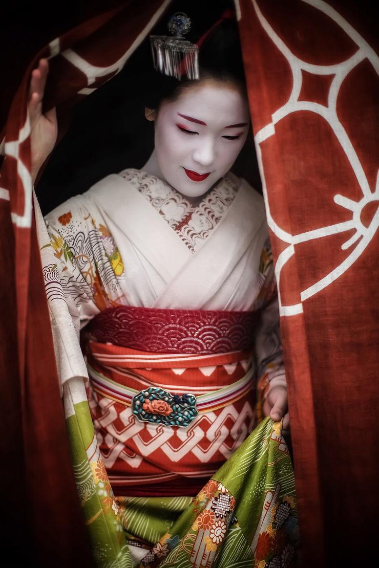Geisha à Kyoto, Japon