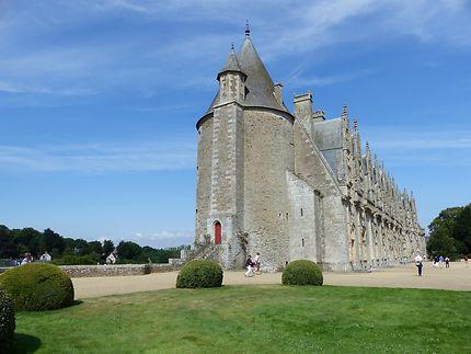 Château de Josselin vu de profil