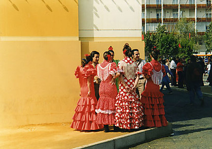 Femmes d'Andalousie