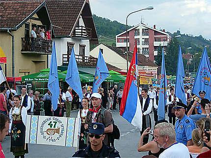 Festival de Guca - Défilé des orchestres