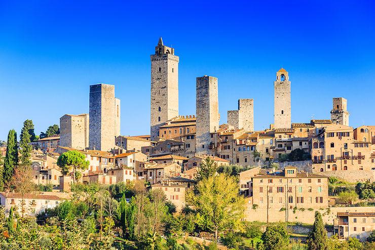 Les ancêtres des gratte-ciels - Italie