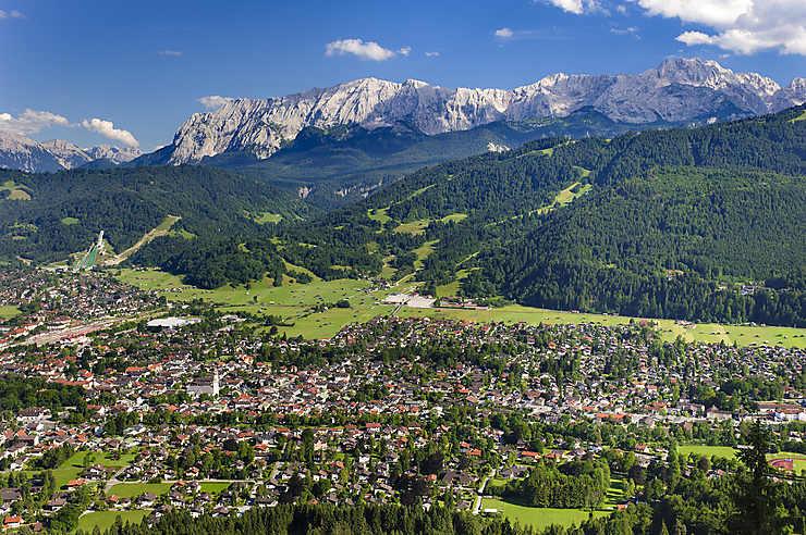 Garmisch-Partenkirchen, entre nature et histoire