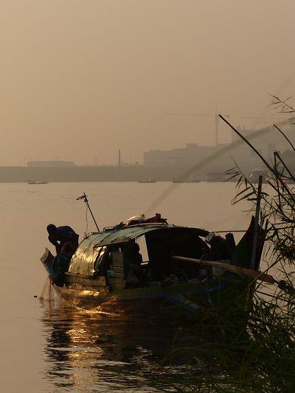Pêcheur sur l'Île de Phú Quốc