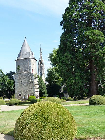 Le château de Josselin et son jardin