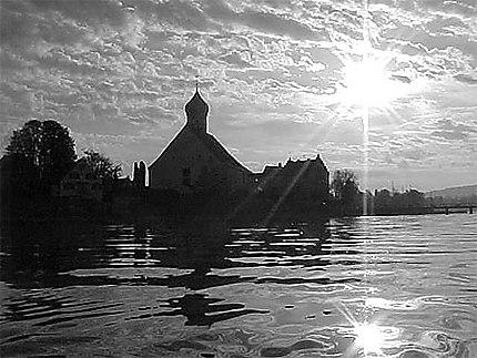 Wasserburg à contre jour