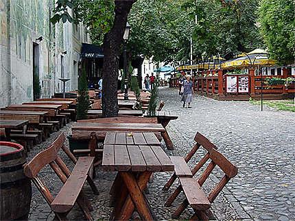 Skadarska, quartier bohème de Belgrade