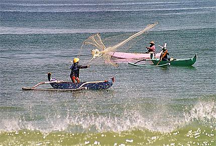 Pêcheurs à Jimbaran