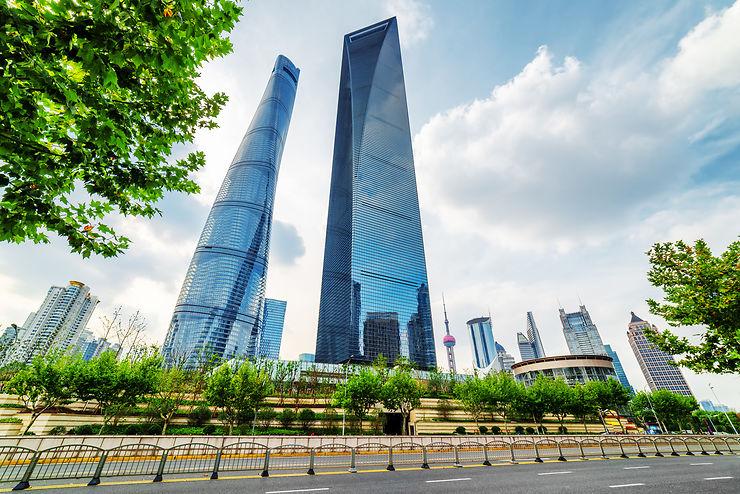 Shanghai World Financial Center et Jin Mao Tower - Shanghai, Chine