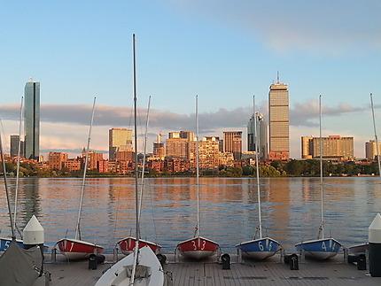 Boston vu depuis Cambridge