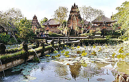 Lotus du temple royal à Ubud