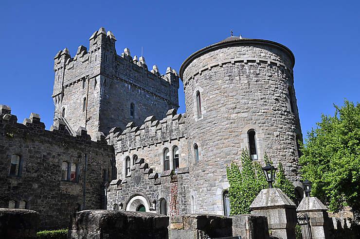 Le château de Glenveagh et son jardin exotique