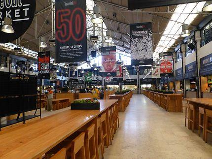 Food court à Lisbonne