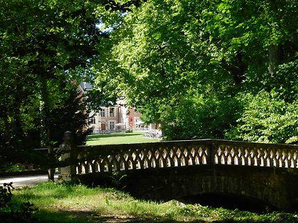 Jardin du parc du Clos Lucé