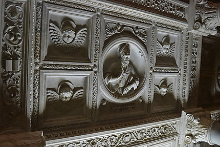 Plafond de la cripte de San Genaro
