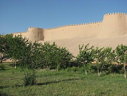 Khiva, les murailles