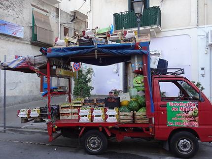 Jour de marché à Lipari