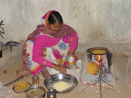La cuisinière du maharadja et sa bonne cuisine