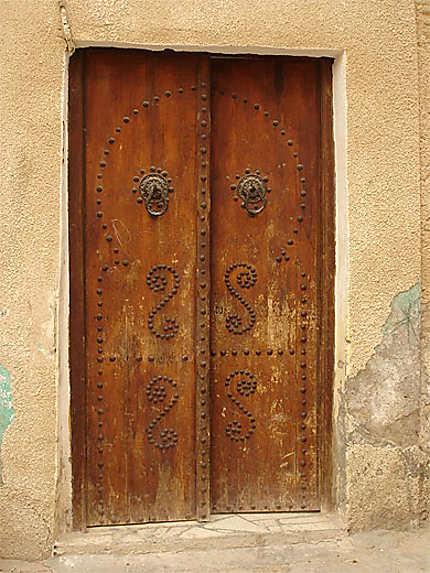 Porte dans Tozeur