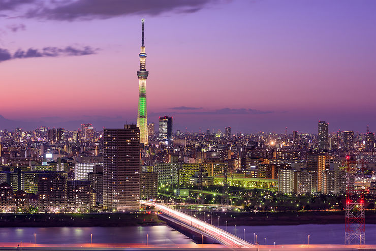 Tokyo Skytree - Tokyo, Japon