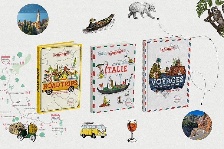 Evénement - Voyages Italie et Road Trips : les nouveaux beaux livres du Routard