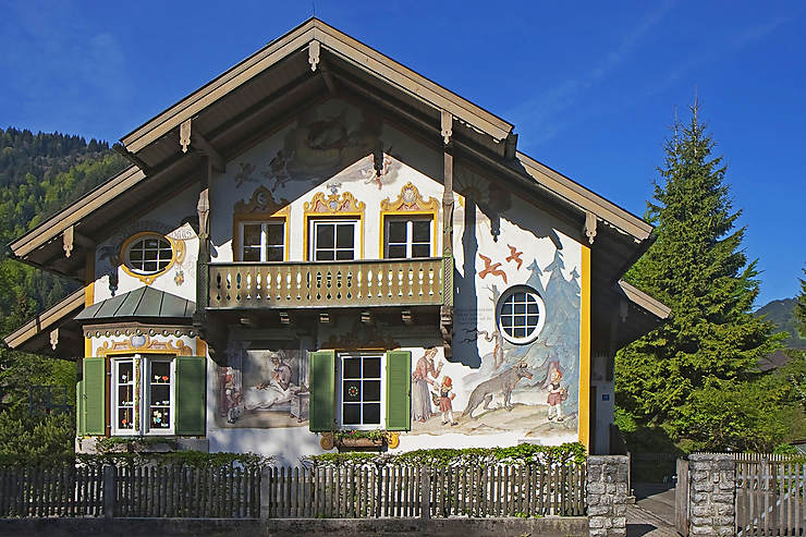 La Bavière, autour de Garmisch-Partenkirchen