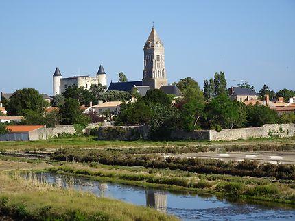 Eglise et château de Noirmoutier-en-l'Île