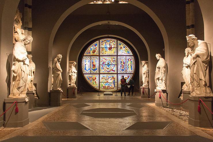 Museo dell'Opera, pinacothèque et Santa Maria della Scala : pour tutoyer les œuvres