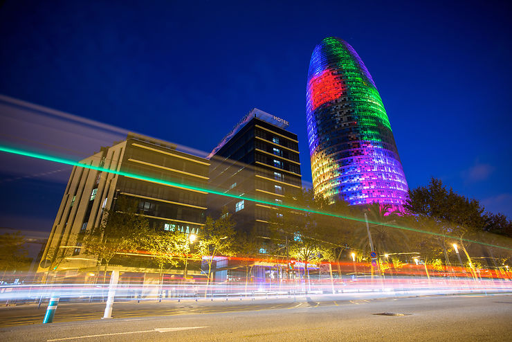 Torre Agbar - Barcelone, Espagne