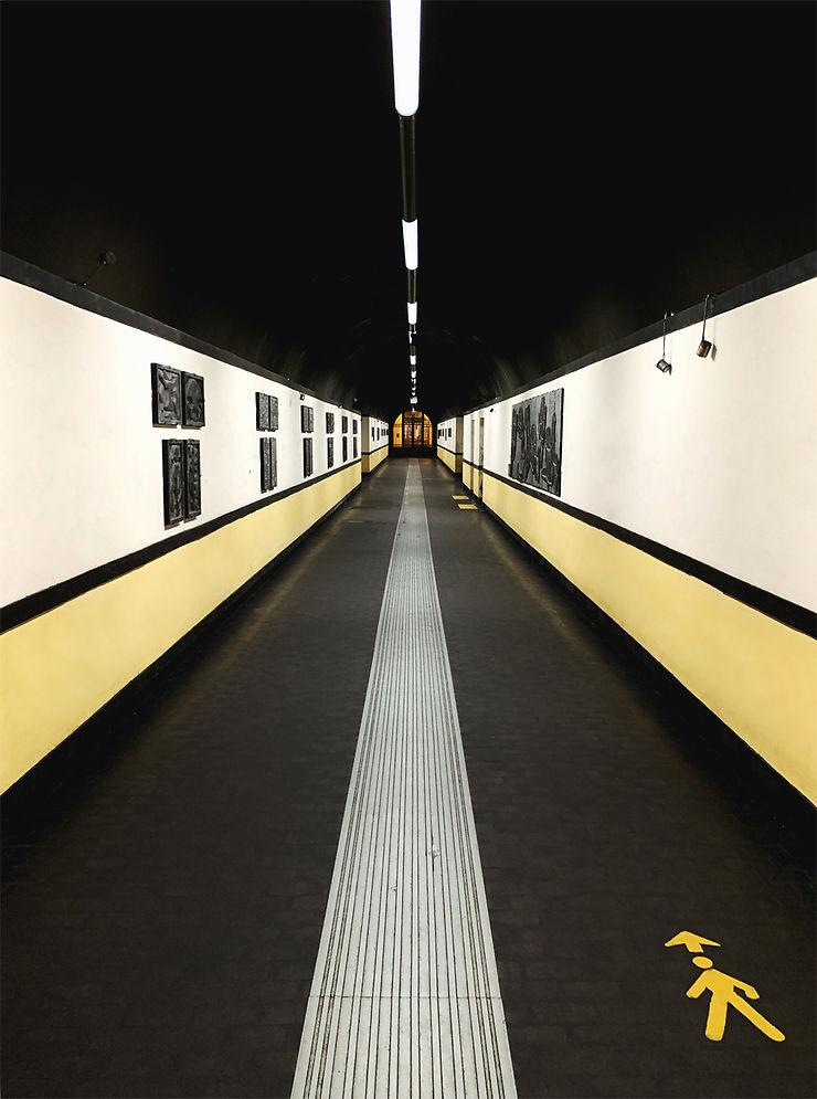 Passage couvert à Gênes, Italie