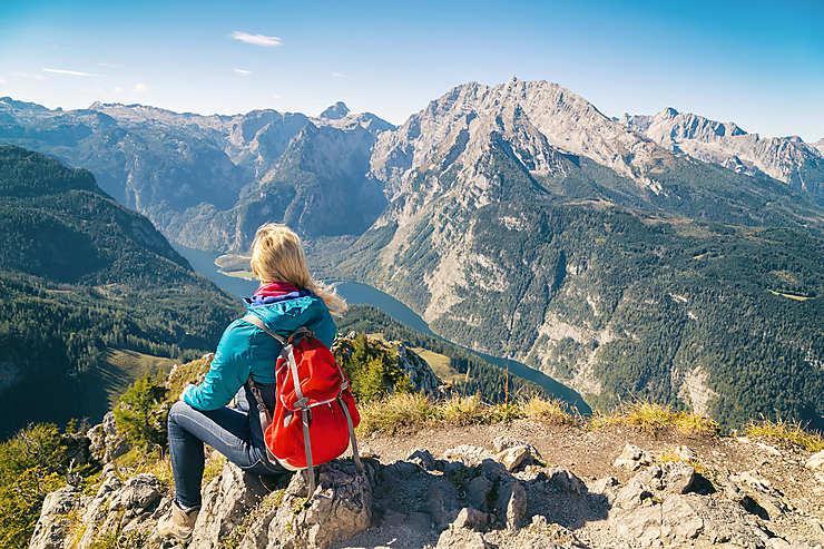 Randonnées dans le parc national de Berchtesgaden
