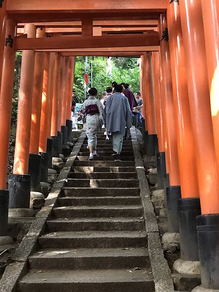 Fushimi Inari, sanctuaire au Japon