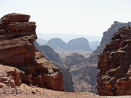 Panorama depuis la montagne du Deir