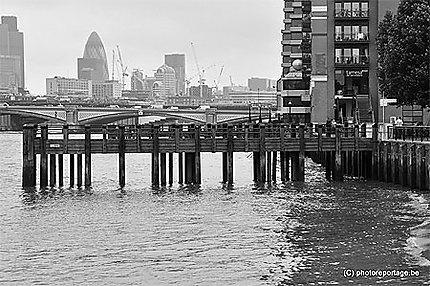 Londres - quartier des Affaires - la City