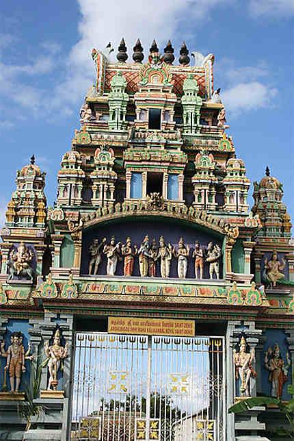 Le temple hindou de Kalikambal