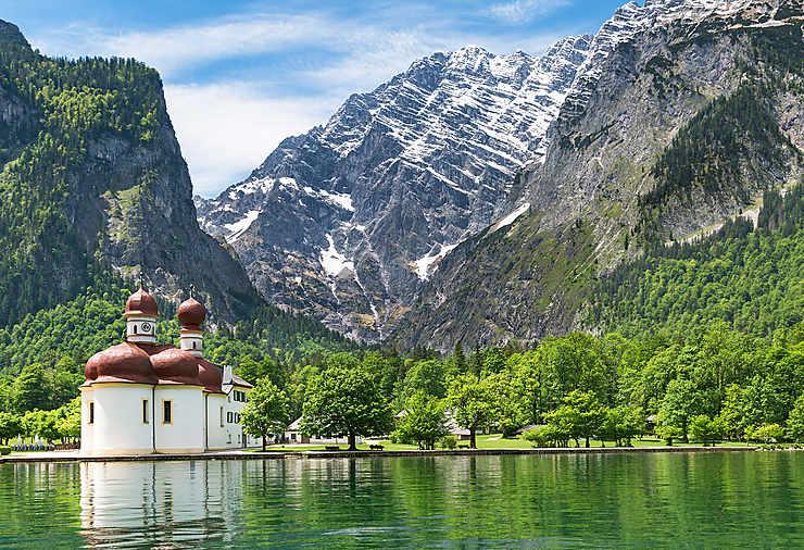 Le lac Königssee, majestueux comme un fjord