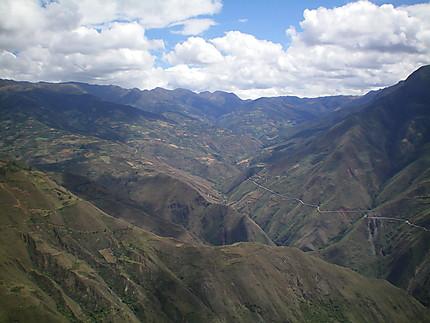 Panorama à Kuelap