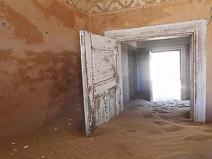 Village fantôme en Namibie