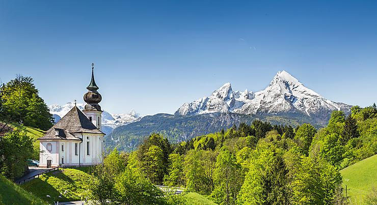 Le Sud de la Bavière, l'Allemagne au sommet