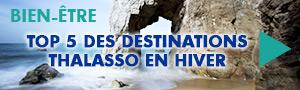 Top 5 des destinations thalasso en Hiver