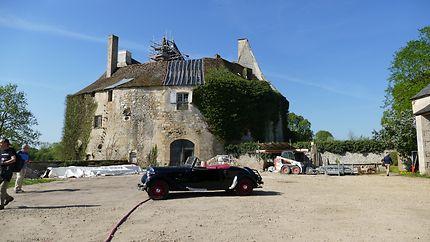 Chateau de Meauce en restauration